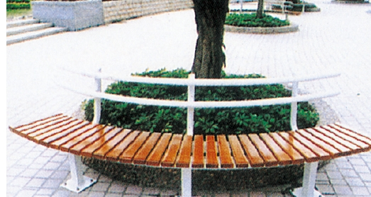 Unique Design Garden Furniture Wood Round Bench Garden Benches