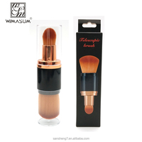 Wholesale manufacturers best private label double end makeup brush for daily makeup