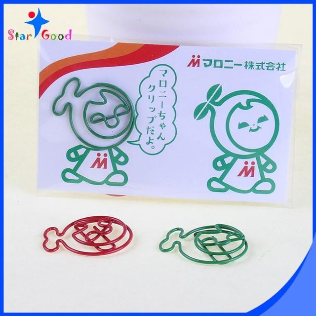 China custom shape gift card wholesale alibaba custom business gift fish shaped paper clip paper card pack colourmoves