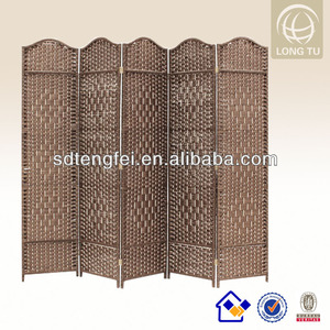 Chinese antique folding home living room divider/partition screen