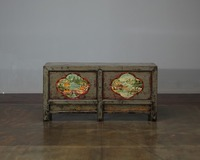 Classic living room furniture hand painted cabinet