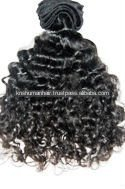 Raw virgin indian hair curlys