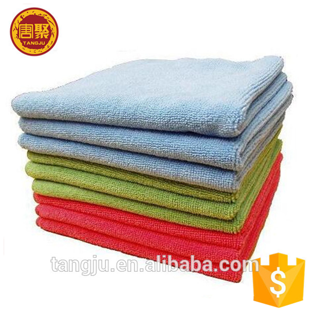 Cool Kitchen Soft Absorbent Towel Cloth Wash Cleaning Car Microfiber Polish Cloth