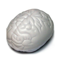 promotional design your own custom brain shaped anti stress ball