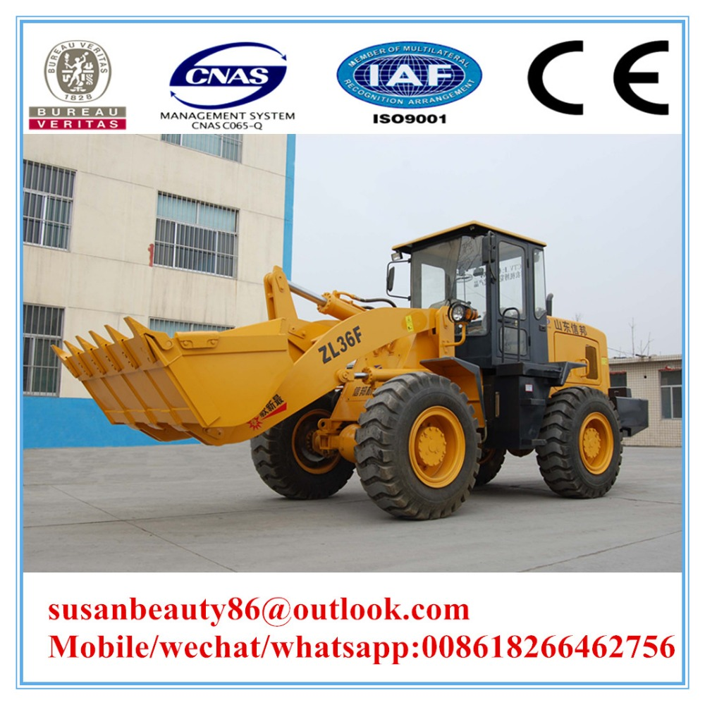 Chinese Manufacturer 3.0 Ton Wheel Loader Parts Backhoe Loader Case