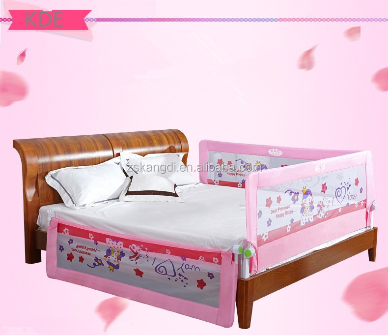 Kid Bed Rail Sleep Guard Protection Safety Sleeping for <strong>Baby</strong> With Cute Cartoon Design