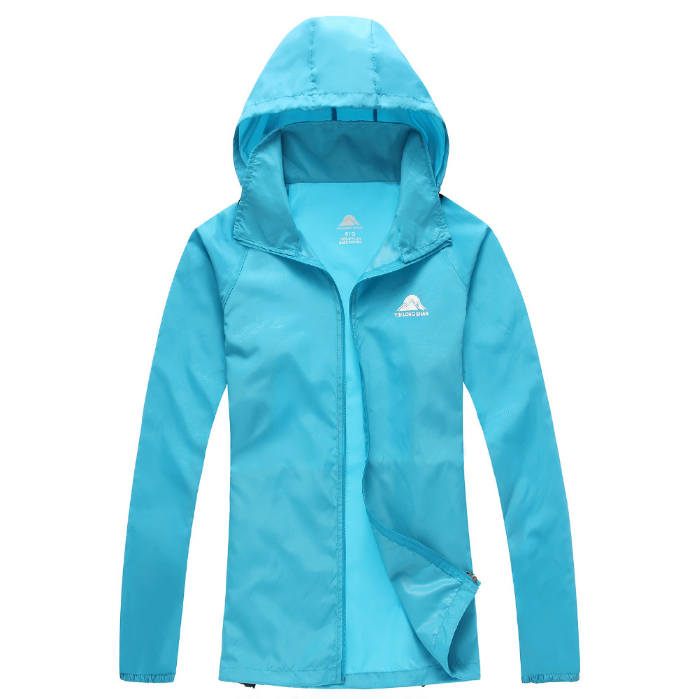 19233cbb0b4 2015 Brand Women+Men Unisex Summer Skin Fishing Thin Quick Dry Jackets  Outdoor Tees Sports