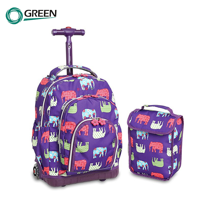 Fashion Children Kids 3 Wheels Backpack Bags for Scooter School Bag
