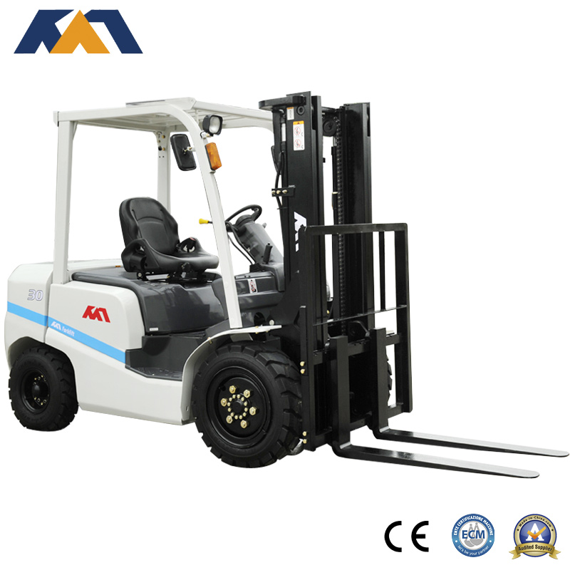 Diesel engine forklift 3ton with Mitsubishi engine for sale