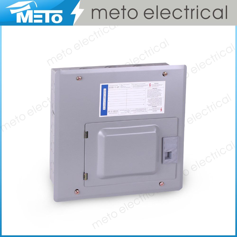 High quality meto 12 way 16 way 3 phase mccb distribution board