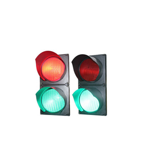 High flux LEDs car parking LED traffic signal light 200mm red/green