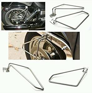 IND STURGIS Motorcycle saddlebags brackets for suzuki 800
