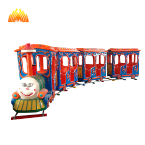 Factory direct electric train playground for wooden track kids park with cheap price