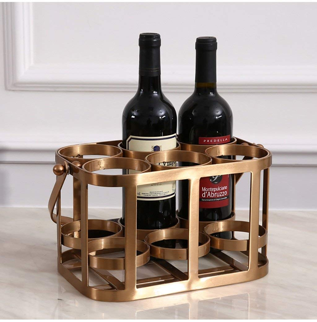 Get Quotations Wine Holder Racks European Style Living Room Cabinet Decoration Copper Iron Rack Model