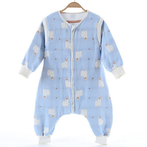 Hot Sale China Manufacturer 100% Cotton Newborn Baby Clothes Romper/Sleeping Bag Suit