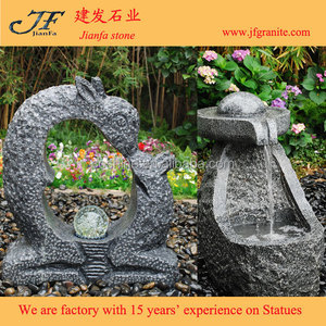 Abstract Home Decor Small Garden Floor Standing Waterfall