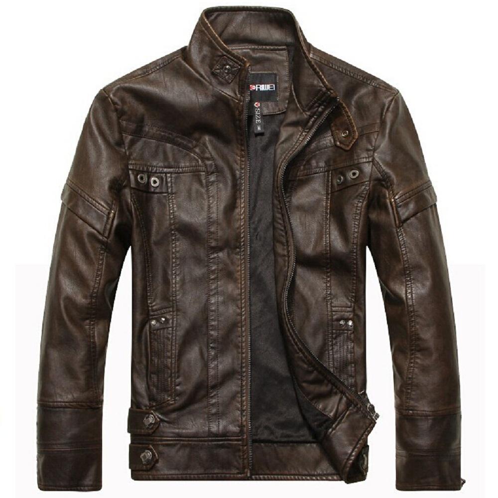 Mens leather jackets fashion