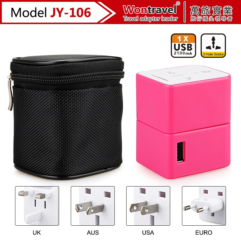 2016 unique business promotional gifts items, 5V 2.1A dual USB universal travel chargers for iphone/ipad