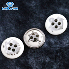 New Style Customized Silver Golden Plating Resin Shirt Buttons