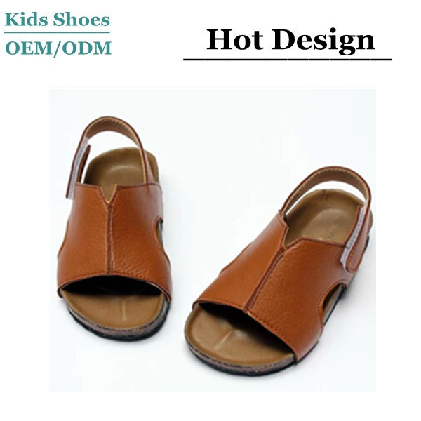 6c27d93bcd8a 2017 newest design toddler boys leather sandals wholesale toddler boys  sandals with straps