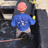 elastomer modified asphalt waterproofing coiled material