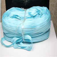 Cheap 8# zippers manufactory Nylon zippers in roll