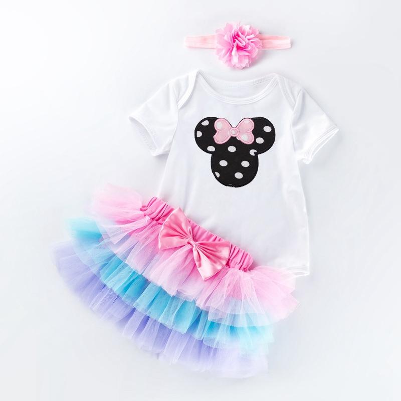 3a1c365f7 Ropa de bebé vestido de Bebé Vestidos 1 año niña cumpleaños vestido de  patrón de la