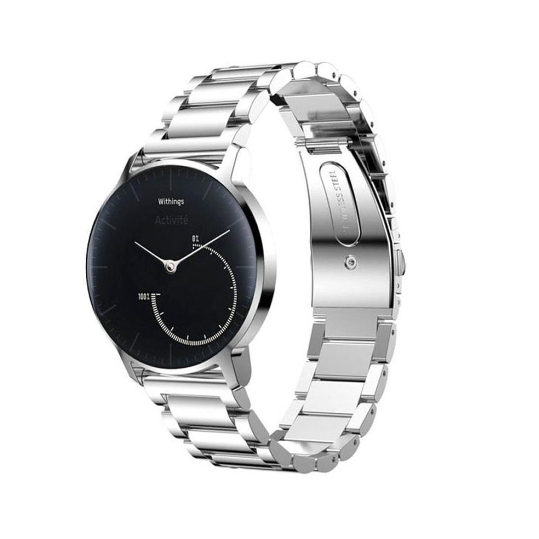 Get Quotations For Withings Activite Steel Watchband Lucoo New Fashion Soft Comfortable Sports Stainless Bracelet Smart