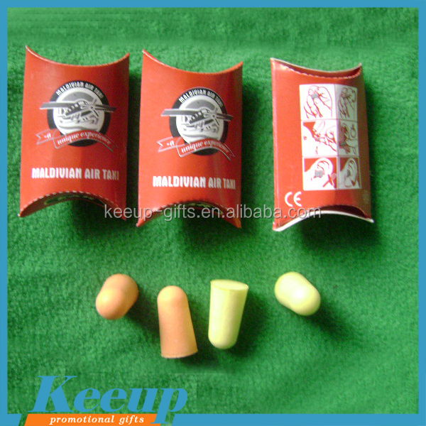 Noise Reducer high quality PU earplugs for 2015 promo gifts.jpg