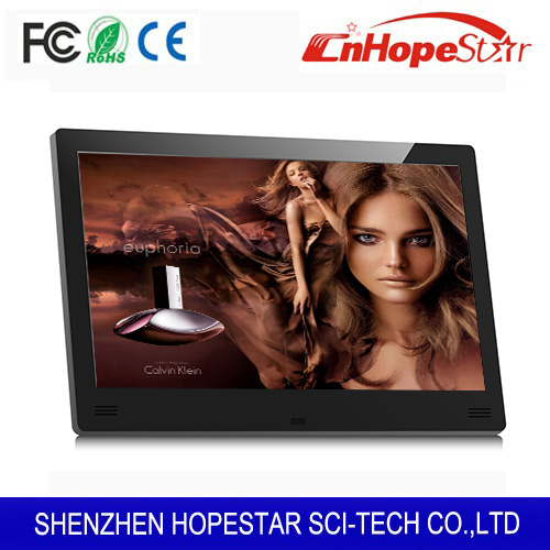 "Multi-functional digital photo frame used for ad player 11"" inch"