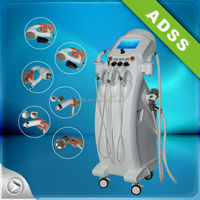 CE ISO 6 systems in 1 for cavitation vacuum radio frequency body shaping and skin lifting machine
