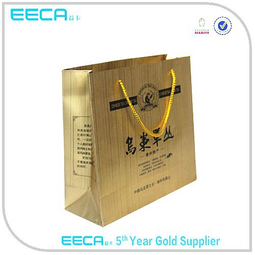 Newly paper bag template/paper bag wholesale in Dongguan China