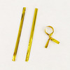 Handmade Useful Gold Silver Metal Plastic Jewelry Accessory