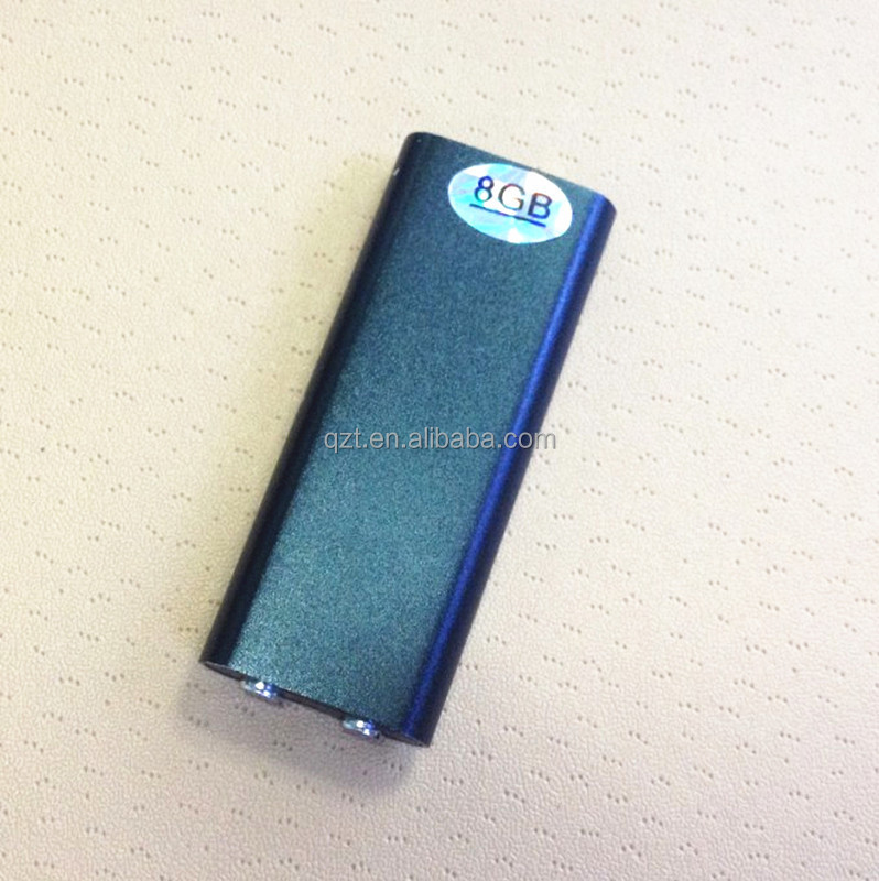 Portable Smallest Mini Digital Voice Recorder With 8gb Mp3 Format ...