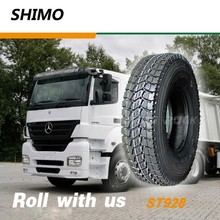 255 mm width container truck tire 10.00r20 for transportation vehicle