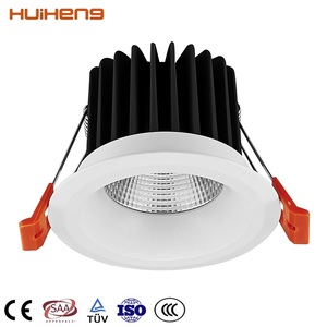 Most Popular Adjustable Dimmable 5W 7W 12W Ceiling Recessed COB LED Down Light LED Downlight