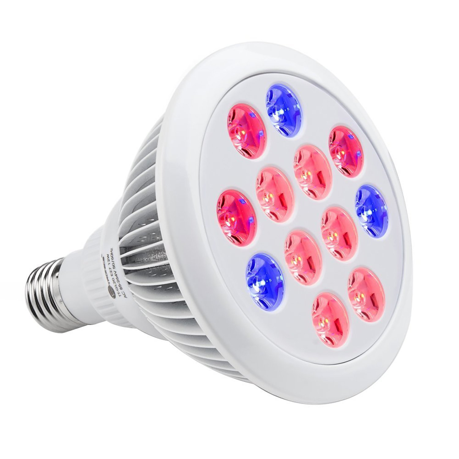 Buy 12w Plant Grow Light Bulb 4vwin E27 Par38 Led Heat Lamp For Indoor Hydroponics Greenhouse Grow Tent Grow Box In Cheap Price On Alibaba Com