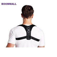 Wholesale neoprene adjustable sitting shoulder back <span class=keywords><strong>brace</strong></span> breathable clavicle posture corrector