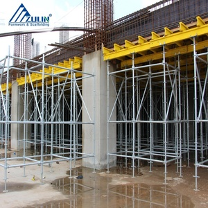 ZULIN modular timber beam slab formwork supports scaffolding integrated portable system unit