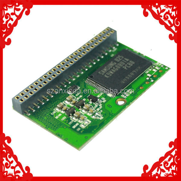 MLC 44Pin IDE Flash Storage 8GB for Highway Toll