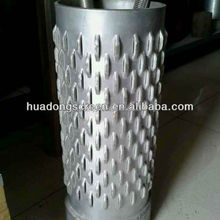 Hot sale low price high strength spiral welded stainless steel well screen pipe