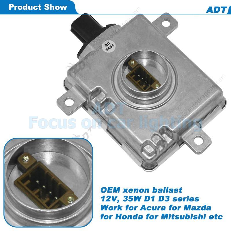 Adt 12v 35w D2s D2r Oem Hid Xenon Headlight Ballast