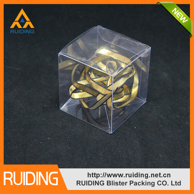 pvc plastic clear folding plastic package