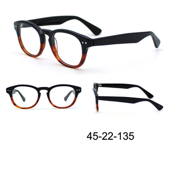 2017 Retro Wholesale Acetate Optical Frame Eyeglasses Eyeframes In ...
