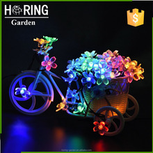 30LED 50LED Solar Fairy Lights String Blossom Flower Decorative Light For Gardens lawn chritmas Tree Wedding Parties multi color
