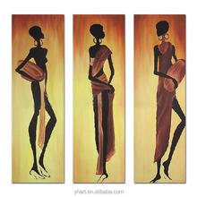 Modern African Figür Boyama Tanıtım Promosyon Modern African Figür