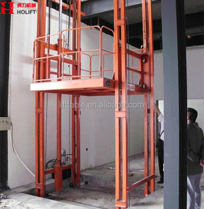 Used Warehouse Goods Lift Cage Lift Cargo Elevator for Sale