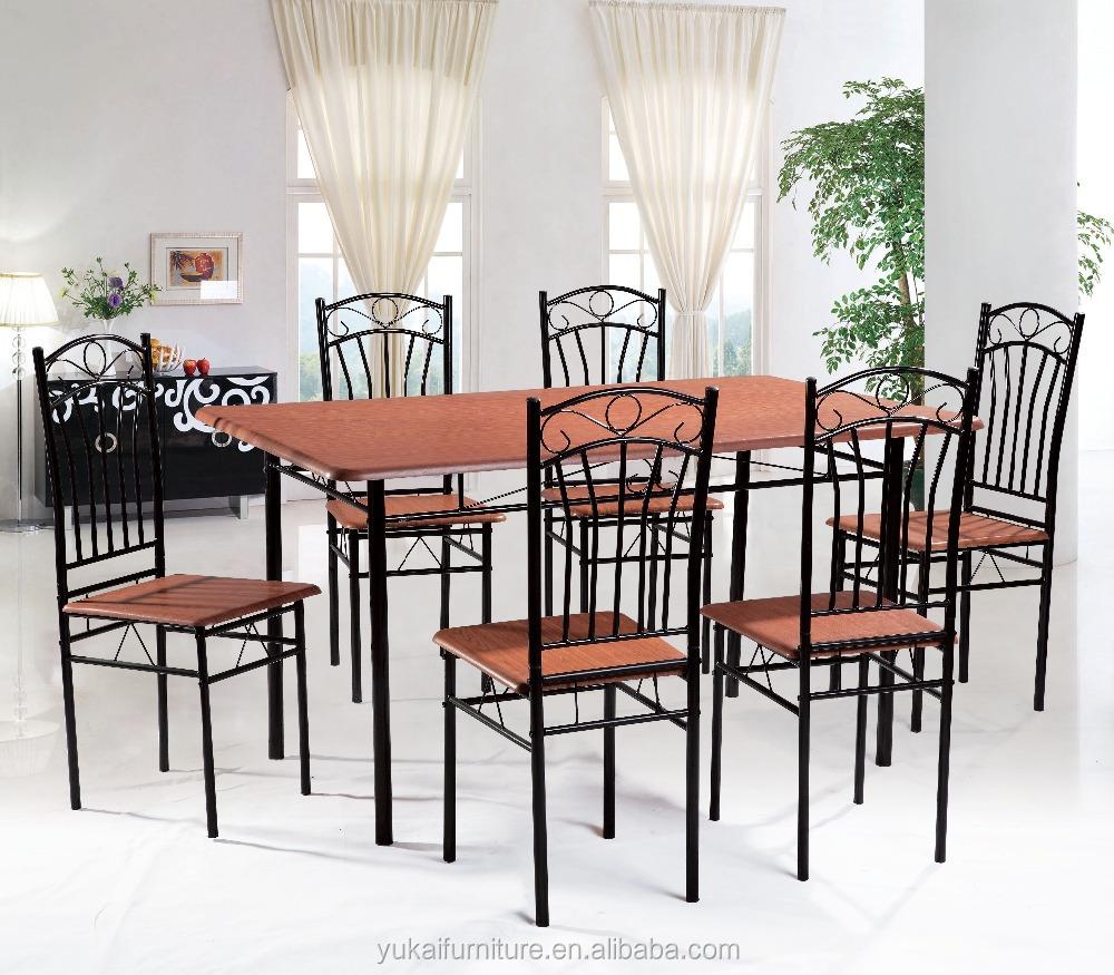 2018 Yukai Ruang Makan Furniture Meja Set 1 6 Buy
