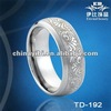 Depp Engraved Domed Tungsten Wedding Bands,Customer Engrave Tungsten Jewelry
