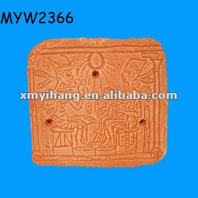 wholesale food natural moisture proof terracotta plates